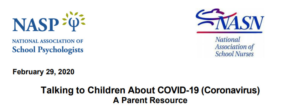 Need ideas to talk to your chidren about COVID-19?