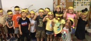 Preschooler are for the bees!