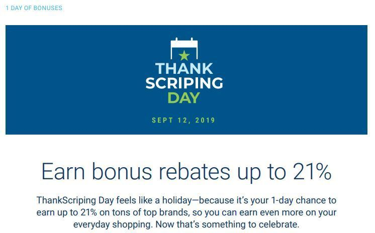 SHOP with Scrip saves you money.