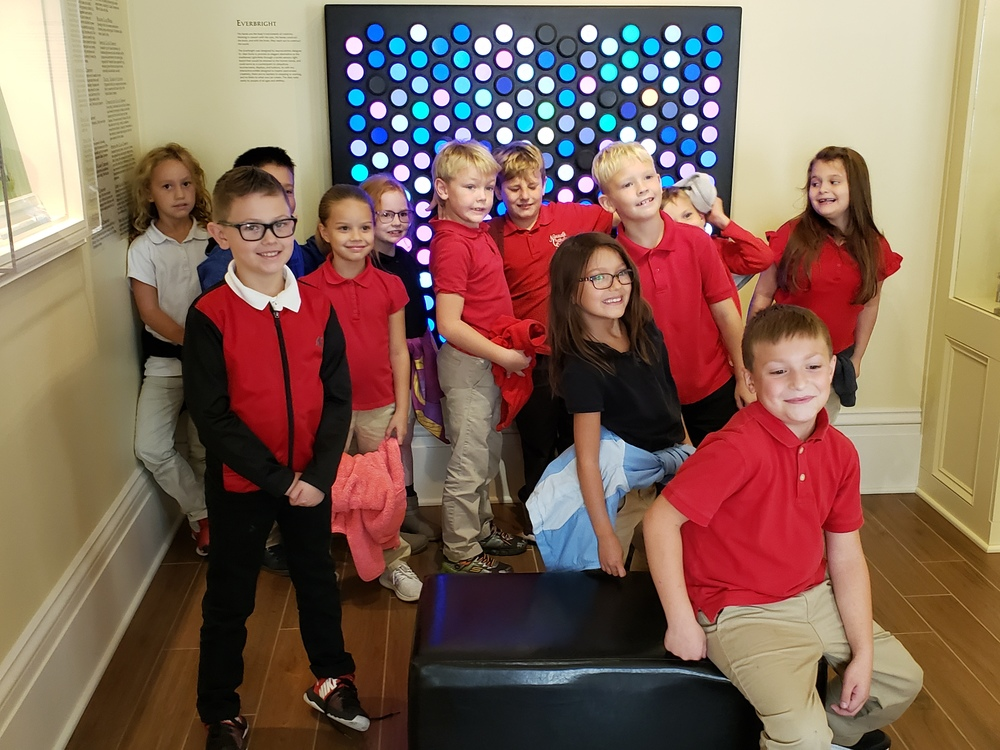 Second Grade makes trip to Edison Museum