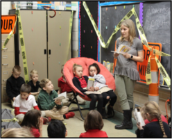 Teacher Mrs. Hannah Wilde Starts a Book Club for 2nd and 3rd Graders