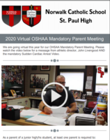 2020 Virtual Mandatory OSHAA Parent Meeting
