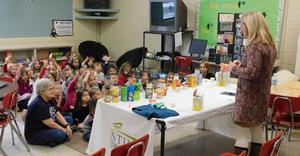 Students learn about 'cavity bugs'