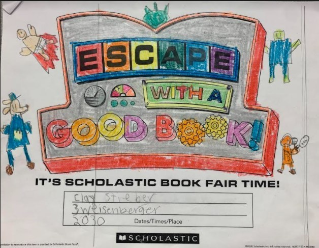 Book Fair Coloring Contest Winners