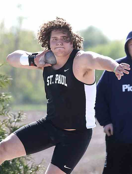 Davis Hedrick Shot Put