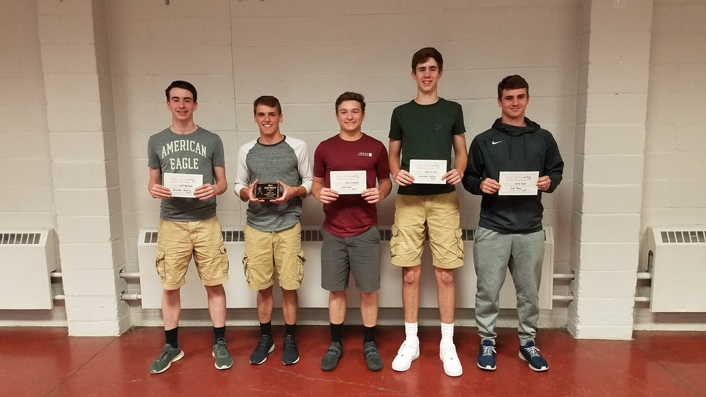 Baseball Award Winners