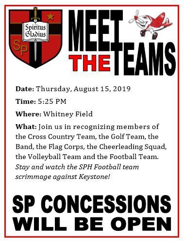 Meet the Team - Thursday, August 15