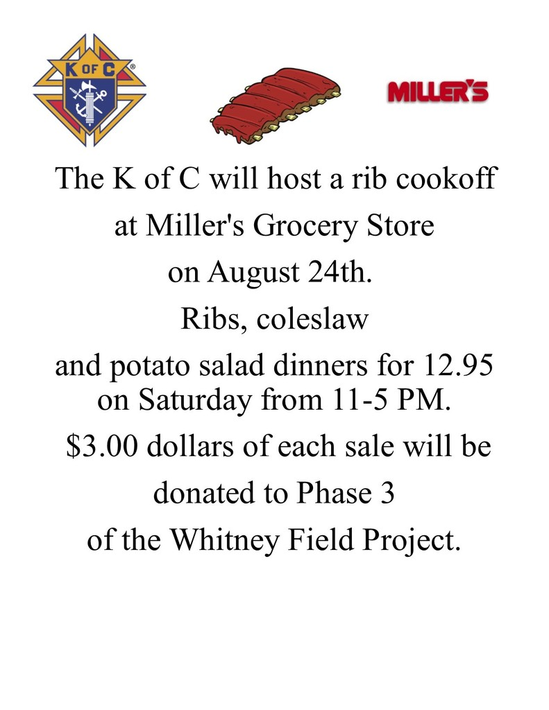 K of C Rib Cookoff