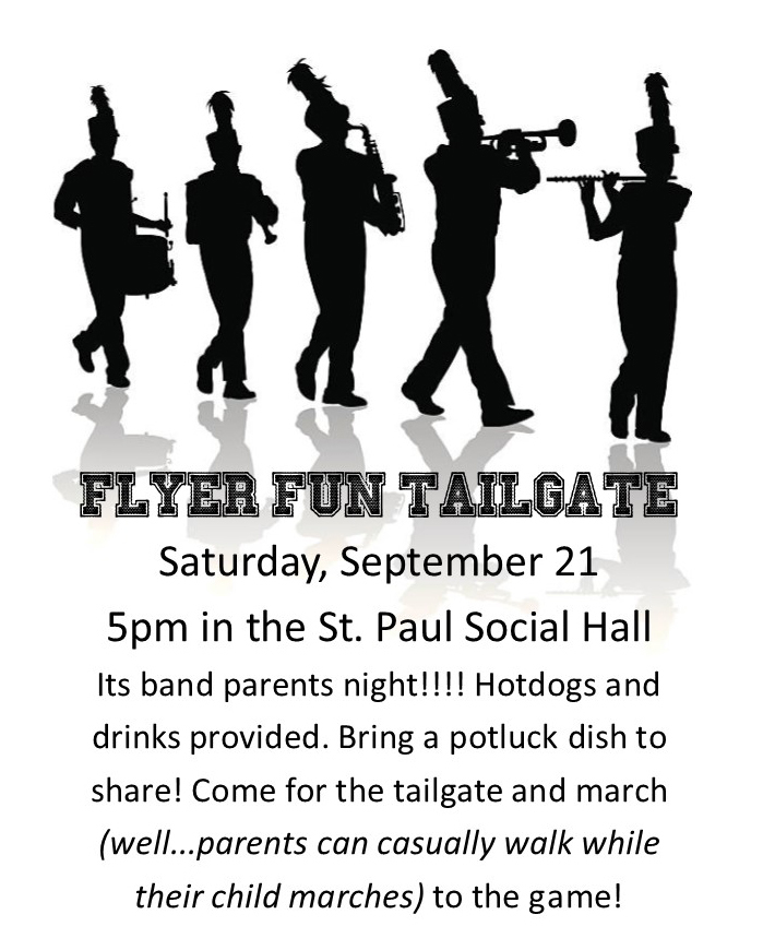 Band parent tailgate