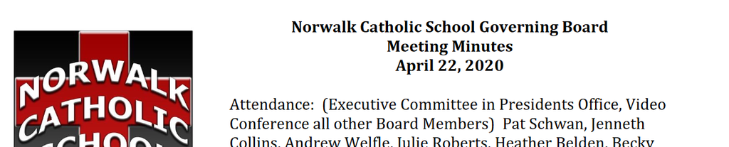 Governing Board Minutes