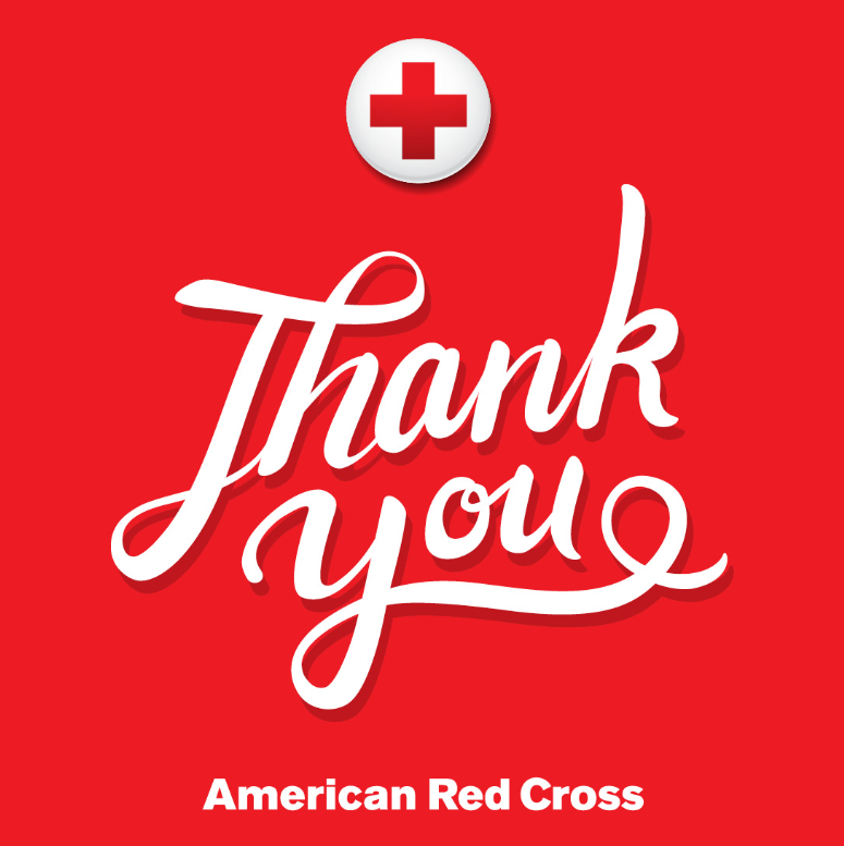 Red Cross Thank you